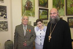 Поздравление Н.Н.Кутепова с награждением Орденом Святой Анны 3 степени