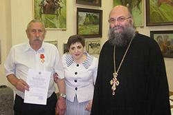Поздравление В.И.Шкуро с награждением Орденом Святой Анны 3 степени