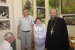 Поздравление Вице-Предводителя С.В.Ореханова с награждением Орденом Святого Станислава 3 степени