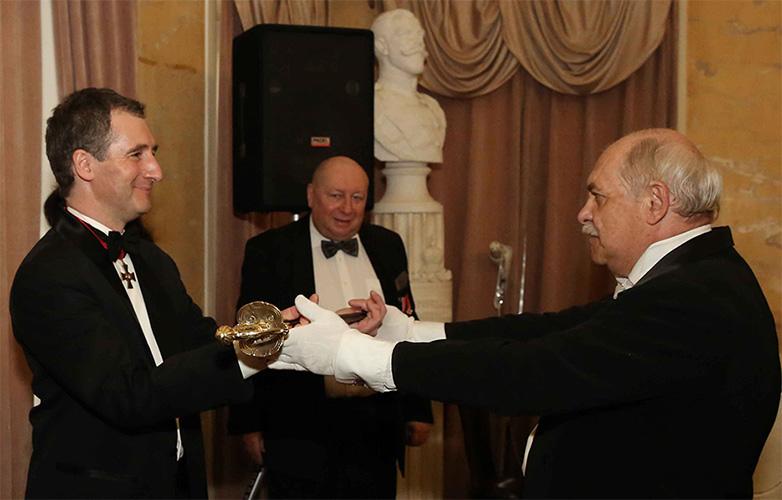 Предводитель Российского Дворянского Собрания О.В. Щербачев