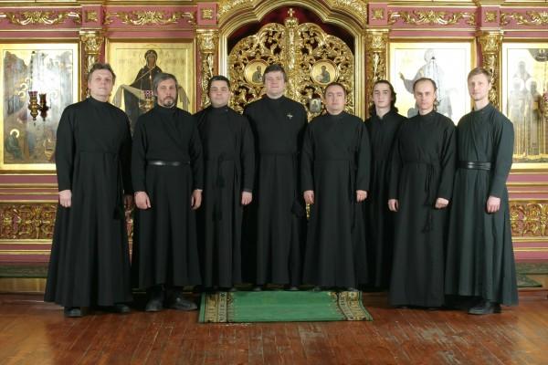 Мужской хор Храма Сретения Господня при Высоко-Петровском монастыре