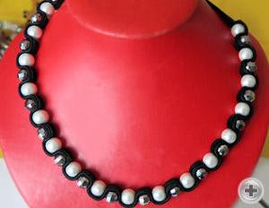 Ожерелье «Черный бархат»