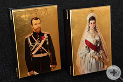 Портреты Страстотерпца Императора Николая II и Его Августейшей Матери Императрицы Марии Федоровны