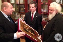 Поздравление Высокопреосвящённого митрополита Истринского Арсения