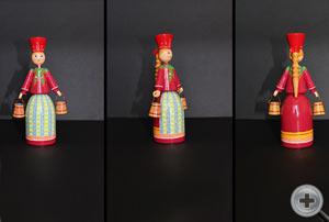 Кукла в русском народном костюме. Костюм праздничный