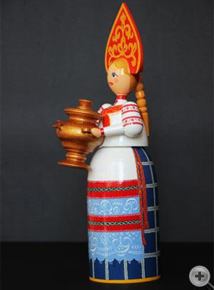 Кукла в русском народном костюме. Костюм прадничный