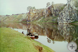 1912 | Верхний Георгиевский камень. Река Чусовая