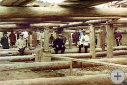 1912 | Бетонировка флютбета плотины