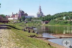 1910 | Борисоглебский монастырь с моста