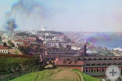 1910 | Общий вид на город Пермь с Городских горок