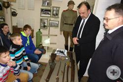 Открытый урок: «Оружие Первой мировой войны» для молодежи Сарапула. Виктор Сергеевич Ерастов