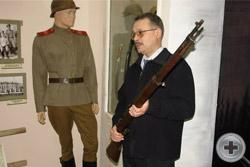 Открытый урок: «Оружие Первой мировой войны» для молодежи Сарапула. Максим Николаевич Архипов