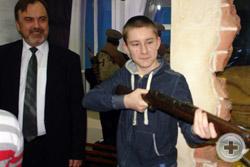 Открытый урок: «Оружие Первой мировой войны» для молодежи Сарапула
