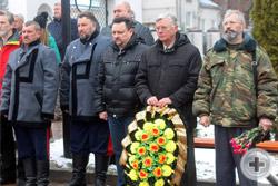 День Георгиевских кавалеров. Панихида на Терновом кладбище Воронежа