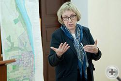 С докладом выступает Креклина Сабина Валерьевна
