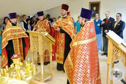 Молебен в храме Святителя Луки